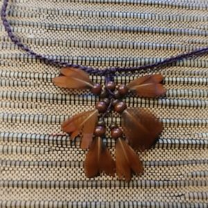 Jewelry - Natural Feather Choker